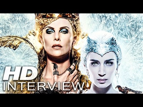 CHARLIZE THERON & EMILY BLUNT on THE HUNTSMAN & THE ICE QUEEN - PATZE TALKS