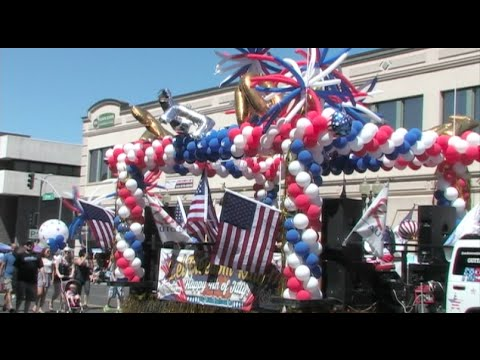 4th Of July Parade - The 141st Fourth Of July Parade In Modesto, California - FULL PARADE 2015