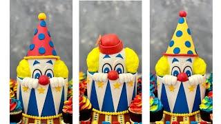 Clown Circus Cake