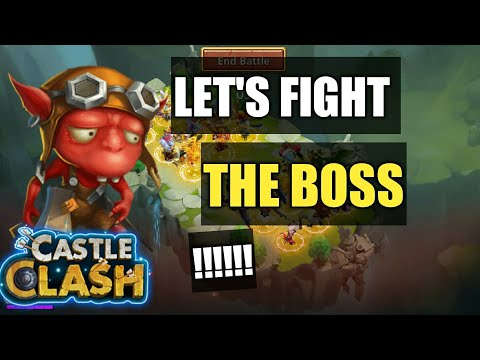 Castle Clash | Labyrinth |  All Goblin Fight Compilation