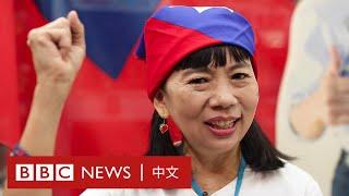 台灣大選:「國旗女孩」自述為何愛韓國瑜?- BBC News 中文