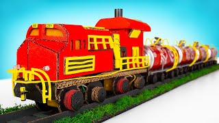 How To Make A Taฑker Train From Coca Cola Cans