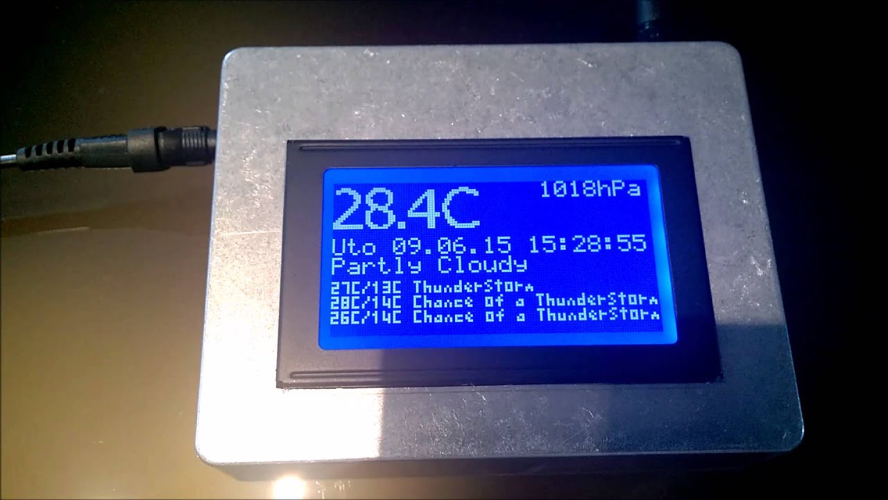 Graphic LCD display 128x64 blue backlight | arduino-shop eu