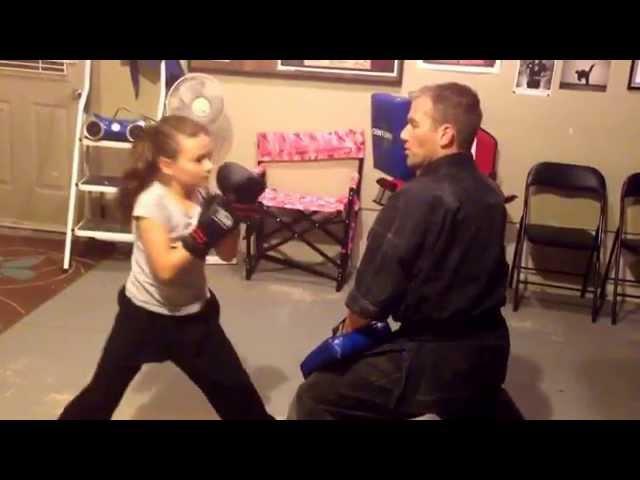 Kenpo Karate Pad Drills for Kids