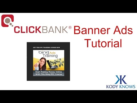 How to Make Money w/ Clickbank Banner Ads: Tutorial