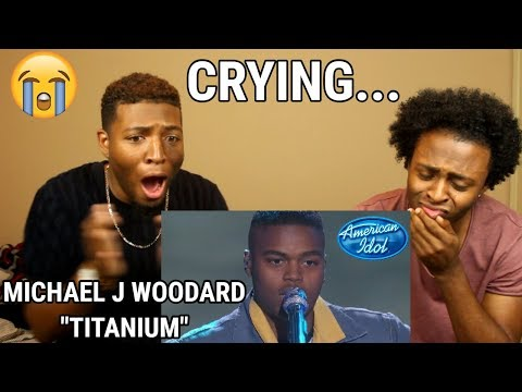 "Michael J. Woodard Sings ""Titanium"" By David Guetta & Sia - Top 14 - American Idol 2018  (WE CRIED!)"