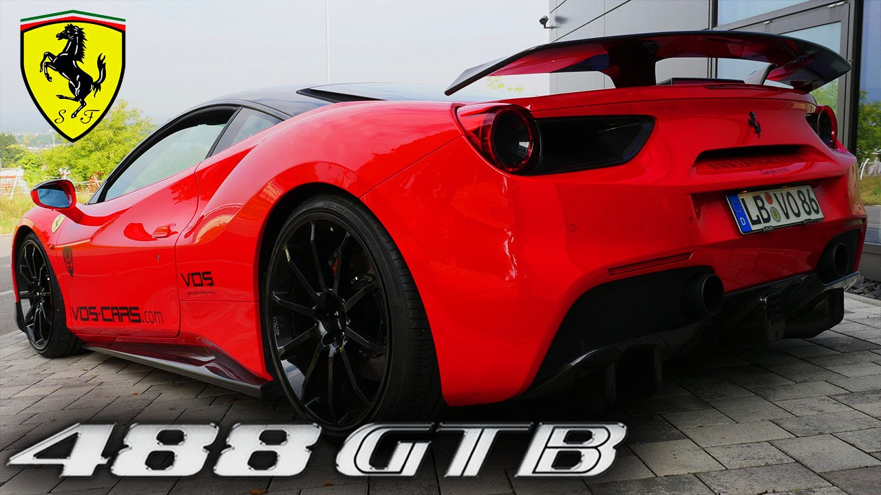 Ferrari 488 Gtb 780 Hp Sound Exhaust Acceleration Fast Onboard Drive By Vos Performance Youtube