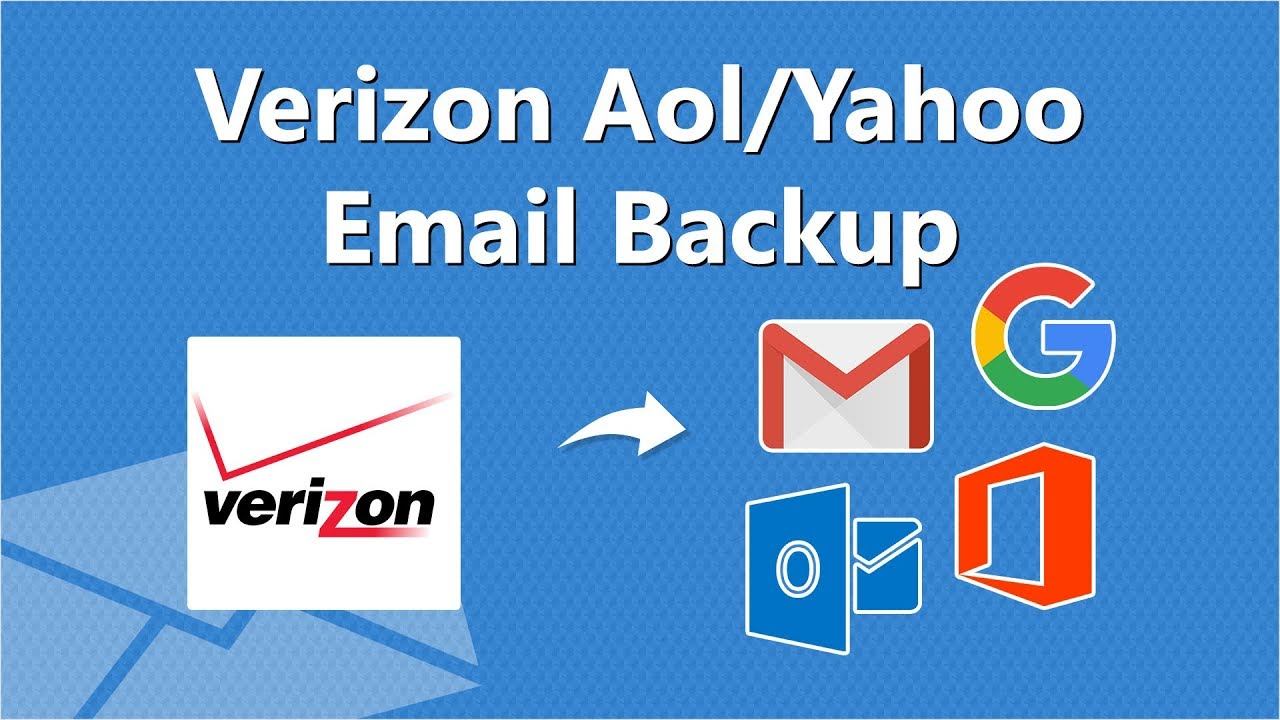 How to Backup & Access Verizon Emails from AOL or Yahoo - Online Tutorial