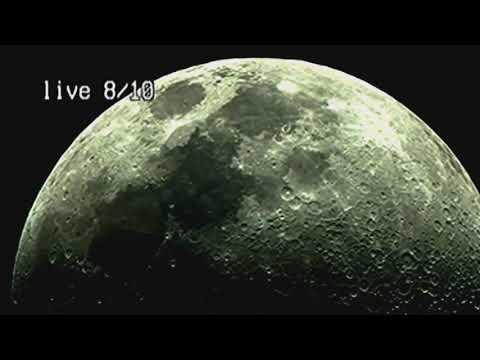 An Amateur Film a UFO Going Through the Moon