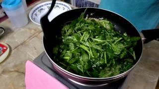 "Ajinomoto® Tasty Treats Contest: ""kampung Style Stir-fried Water Spinach"""