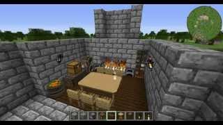minecraft kitchen medieval