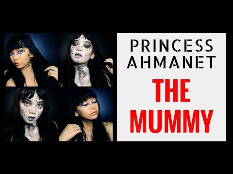 SFX MAKE UP #9: The Mummy Movie 2017 - Princess Ahmanet Make Up Look || Judith Cholya - YouTube