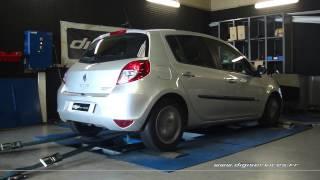 Reprogrammation Moteur Renault Clio 3 1.5 dci 75cv @ 107cv Dyno Digiservices Paris