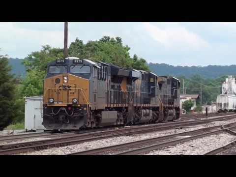 CSX ClinchField action 5/22/17 Kingsport Tennessee