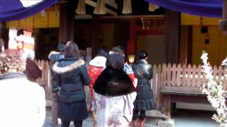 初詣 日本人在新年时参拜神社