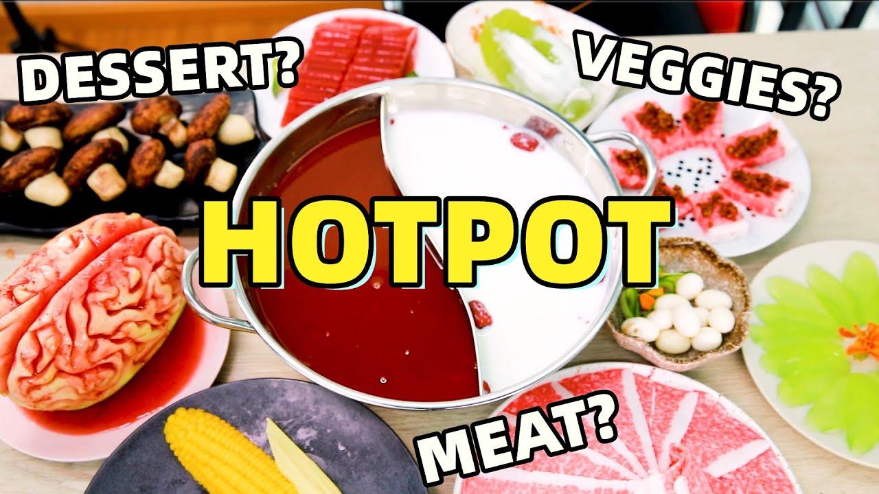 "DESSERT HOTPOT!How to make ""Fatty Beef"" w/ Strawberry Jelly? | Ms Yeah"