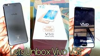 Vivo V5s Unboxing || Hands On Review || Matte Black 64 GB ( Indian Unit )