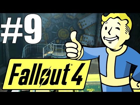 Fallout 4 Lets Play - Part 9 - The Return! Wild Adventures, and another Vault!? (Survival Mode)