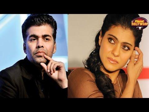 Karan Johar's Name Fumes Kajol & Why?   Bollywood News