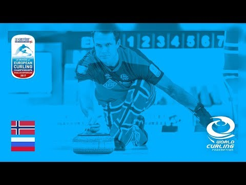 Norway v Russia - Men's Round-robin - Le Gruyère AOP European Curling Championships 2017