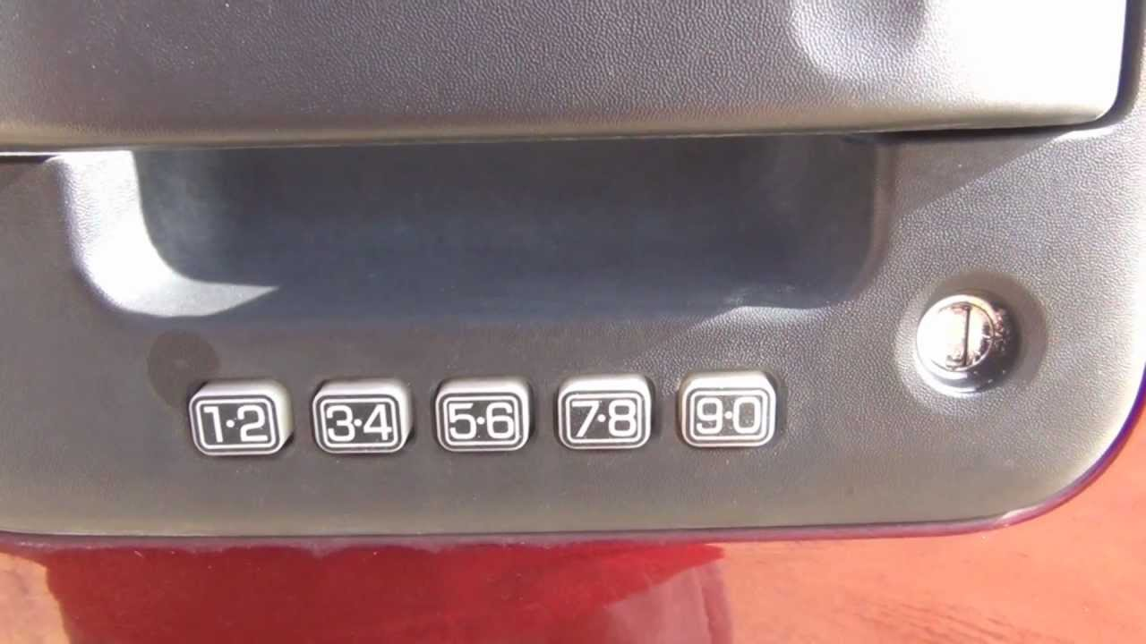 2006 F150 Programming Personal Keyless Entry Code Youtube