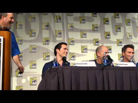 Superman 75th Anniversary panel Comic Con 2013 Video 6 - Man of Steel Sequel