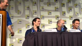 Superman 75th Anniversary panel Comic Con 2013 Video 6 - Man of Steel Sequel