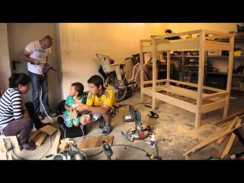 Piętrowe łóżko Dla Dzieci Diy Youtube