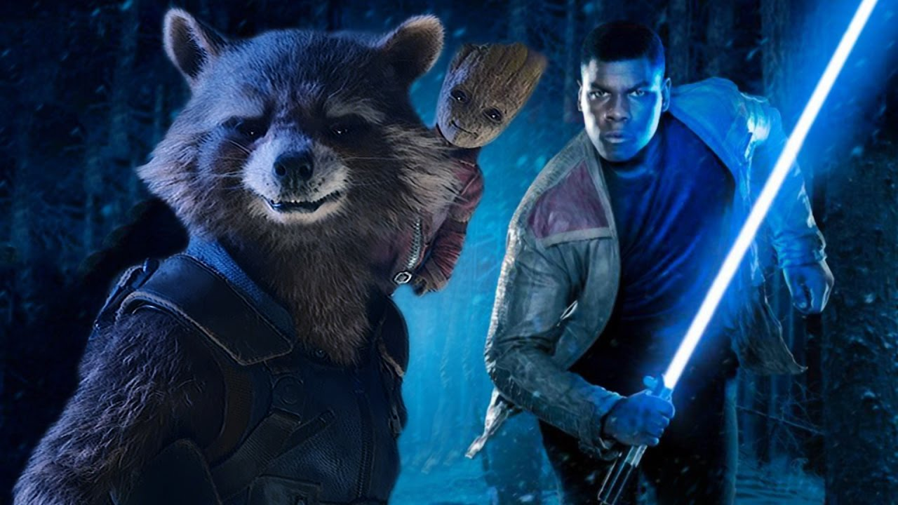 Star Wars: The Force Awakens (Guardians of the Galaxy Vol  2 Style!)