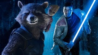 Star Wars: The Force Awakens (Guardians of the Galaxy Vol. 2 Style!)