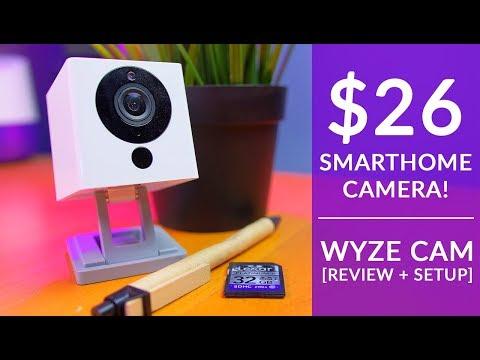 Is a $26 Smart Home Camera as Good as a Nest Cam? Wyze Cam SmartHome Cam Review + Setup Tutorial
