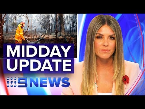 Bushfire Emergency Latest, Vic Hit Run | Nine News Australia