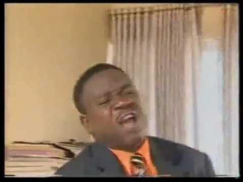 Mr Ibu Acts Stupidly While His Boss Watch Him From Behind - Nigerian Comedy Skits !