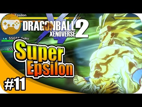 DRAGON BALL XENOVERSE 2 (SAYAJIN) | SUPER EPSILON VS GOLDEN FREEZER #11