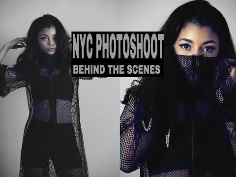 VLOG | BEHIND THE SCENS NYC PHOTOSHOOT | ARIANA.AVA