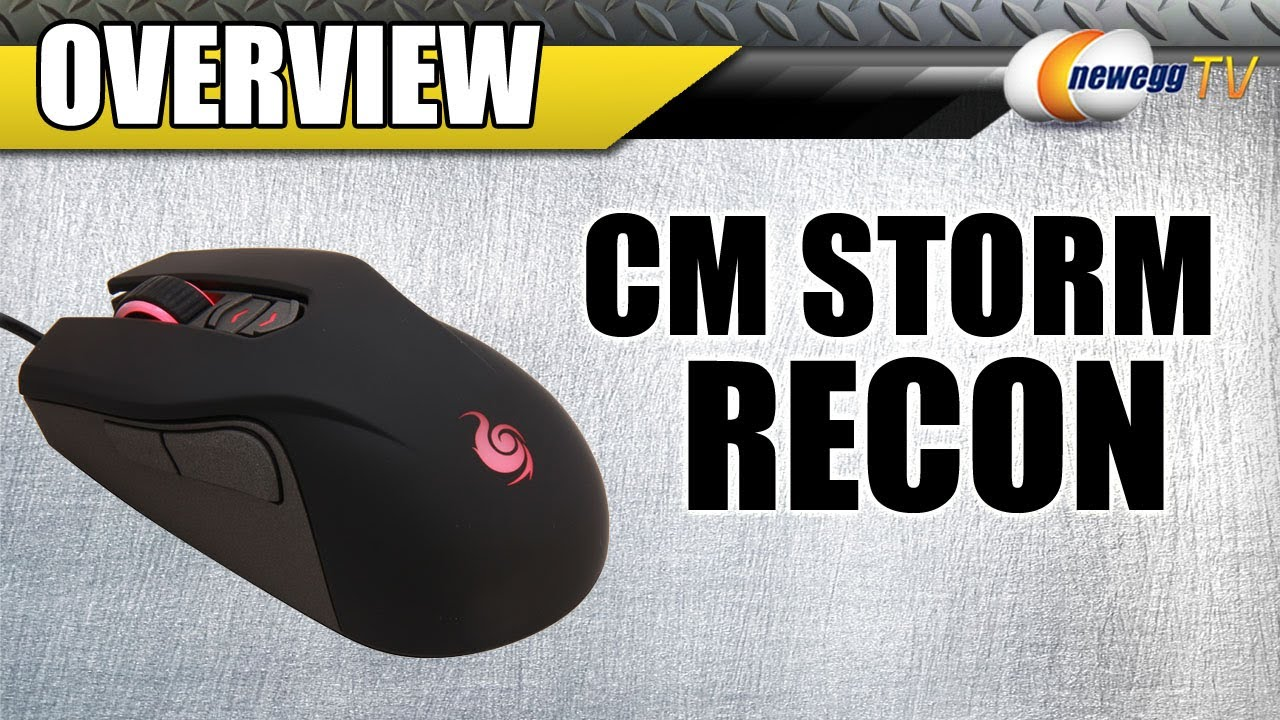 848cbb71fde Cooler Master CM Storm Recon Gaming Mouse Overview - Newegg TV - YouTube
