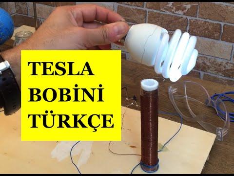 Tesla Bobini Nasıl Yapılır , Ev Yapımı Tesla Bobini