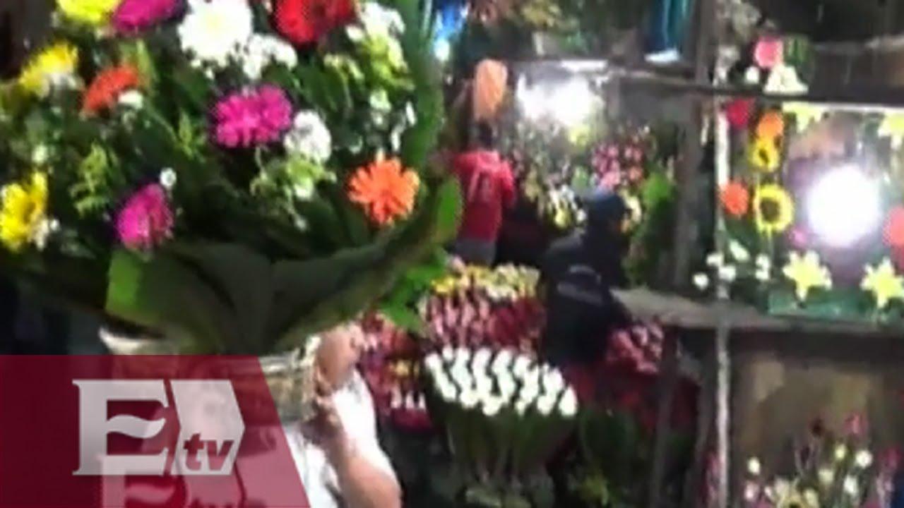 Arreglos Florales En El Mercado De Jamaica Para Obsequiar A Las Mamás Vianey Esquinca