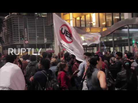 Brazil: Protests against Temer's education reforms continue in Sao Paulo