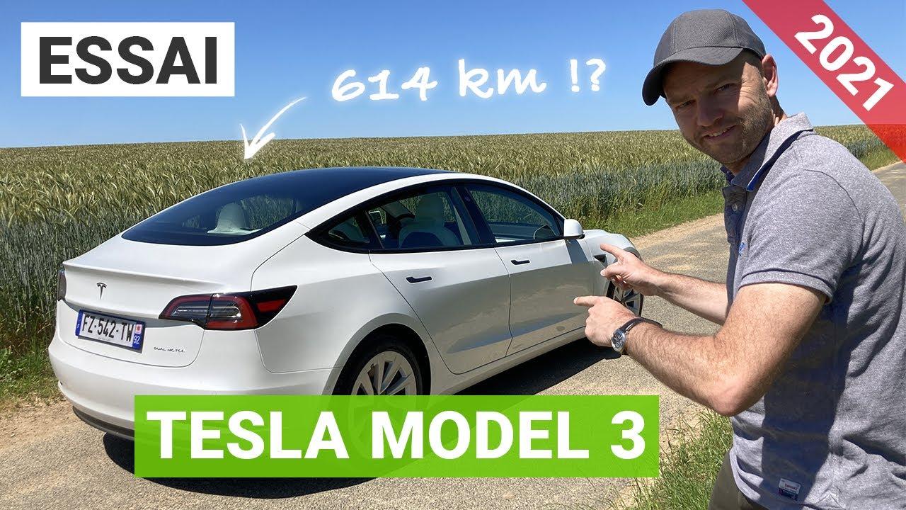 Essai Tesla Model 3 LR 2021 : on vous dit tout ce qui change