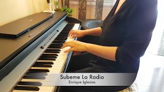 Enrique Iglesias-Subeme La Radio-Piano Cover by Roxana Belibou