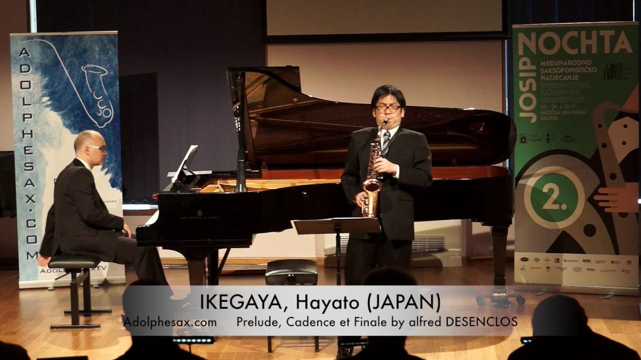 Prelude, Cadence et Finale (Alfred Desenclos) - IKEGAYA, Hayato (Japan)