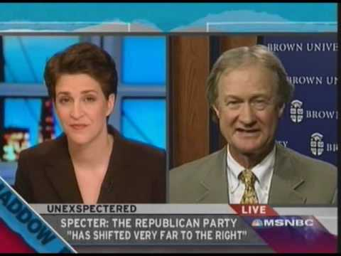 Lincoln Chafee Feels the GOP is Not Going to Remain a Viable National Party