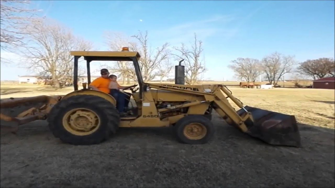 Ford 545D Landscape Tractor For Sale