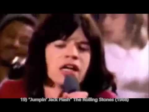 Top 30 Rock Songs of The 1960s