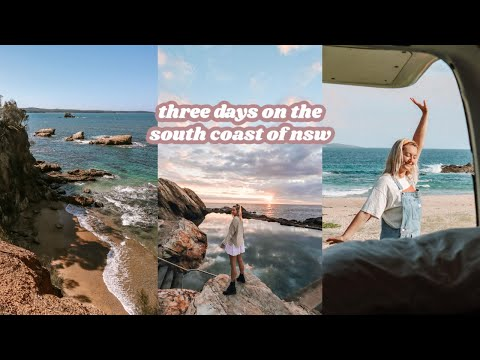 the #vanlife vlogs: south coast, new south wales 🚌