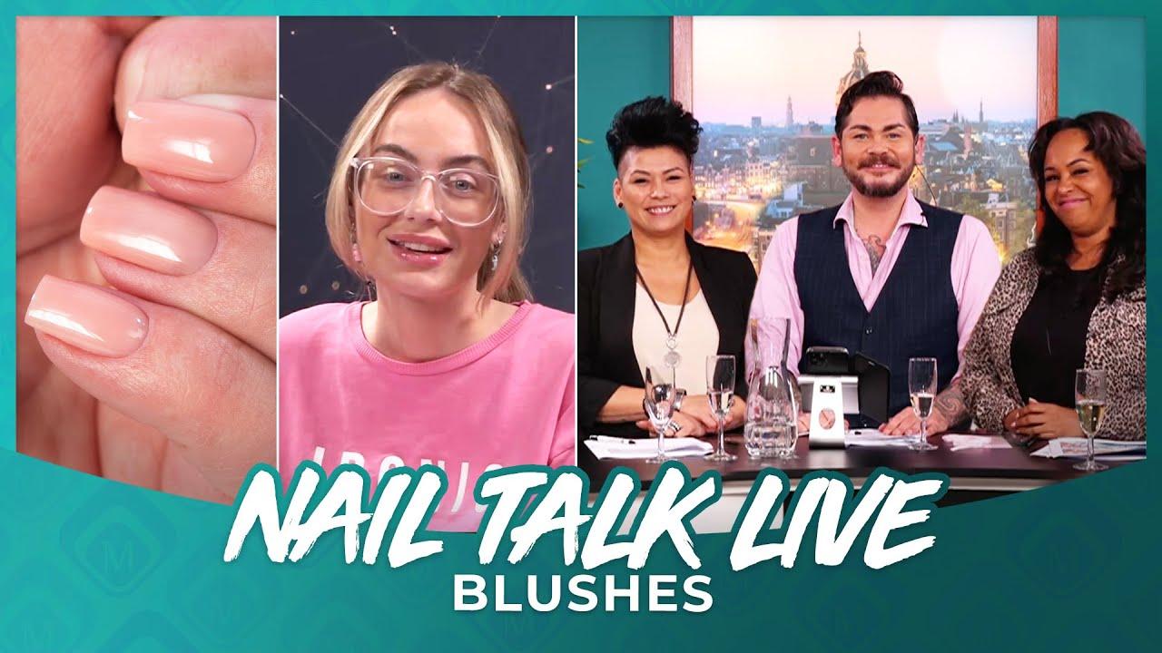 Nail talk live Blushes NTL NL Seizoen 9  Show 2