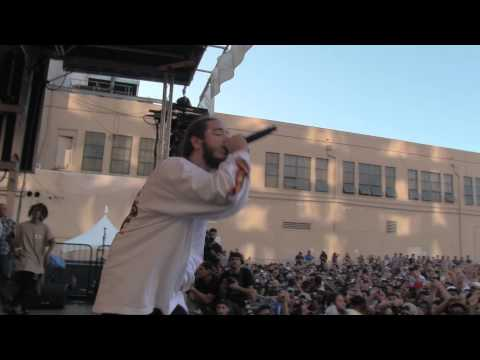 POST MALONE w/ JADEN SMITH - WHITE IVERSON - LIVE @ FOOLS GOLD DAY OFF LA 2015 - 8.29.2015
