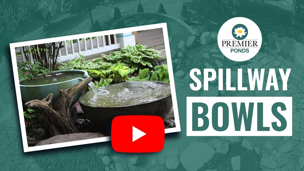 Spillway Bowls Fountain Installation  Premier Ponds Of Maryland, DC, And  North VA   YouTube