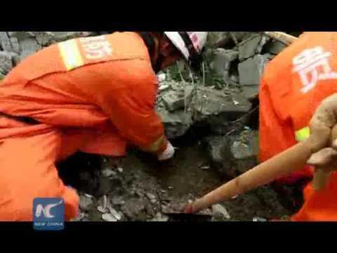 10 killed in SW China landslide